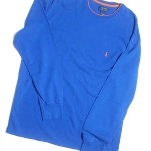 Polo thermal in blue xxl